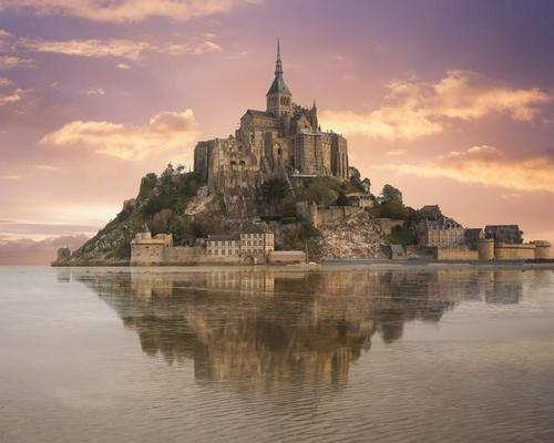 The iconic Mont-Saint-Michel in Normandy was the focus of a partnership between Microsoft and HoloForge Interactive and Iconem in Paris, through which a mixed reality and AI museum experience was created