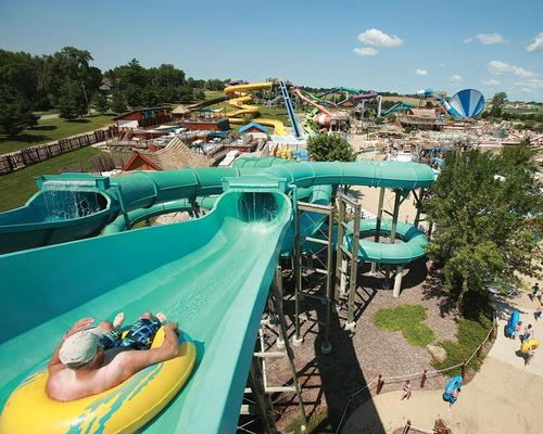 Lost Island Waterpark sits on 27 acres of land - the theme park will be more than twice the size