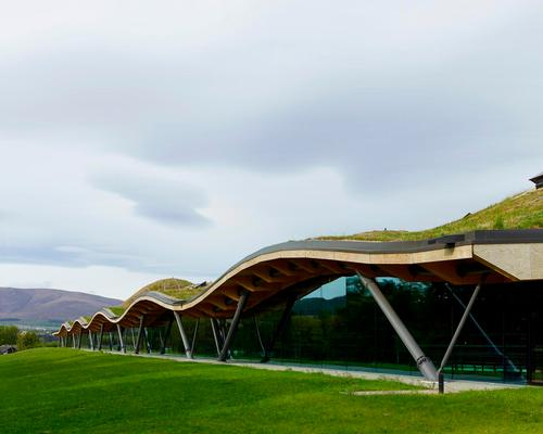 The Macalan: The new distillery and visitor centre is located within the estate of Easter Elchies House. / Mark Power