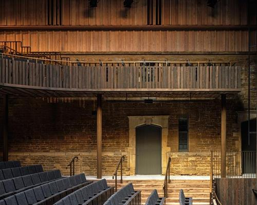 The Neville Holt Opera is a purpose-built, 400-seat theatre hidden within a 17th-century stable block on a Grade I-listed estate / Hélène Binet