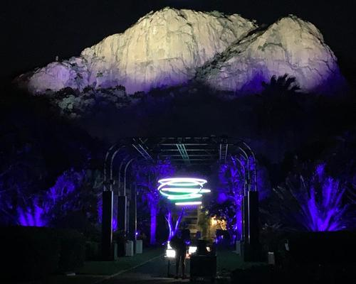 Townsville takes a shine to new Halo light show