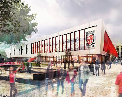 Woking FC stadium plans go on show
