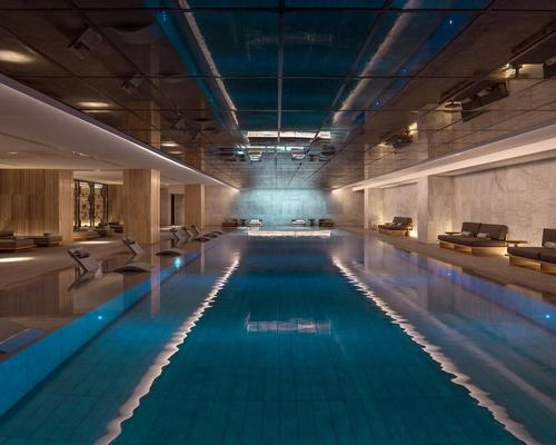 The spa, developed by Raison d'Etre, offers a host of Carita and Organic Pharmacy treatments, alongside a personal trainer, qualified nutritionist, nail bar and hairdressing salon