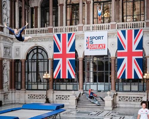 The campaign looks to promote British sport to a worldwide audience
