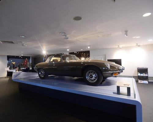 Coventry Transport Museum is home to two of the fastest cars in the world