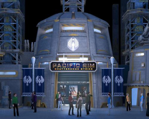 Legendary Entertainment brings guests face-to-face with Kaiju in new Pacific Rim immersive dark ride