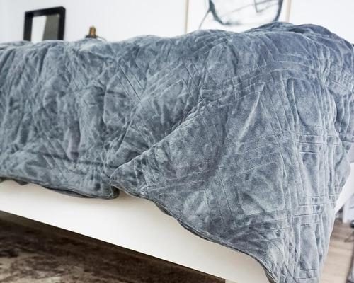 Hush Iced blanket improves sleep quality