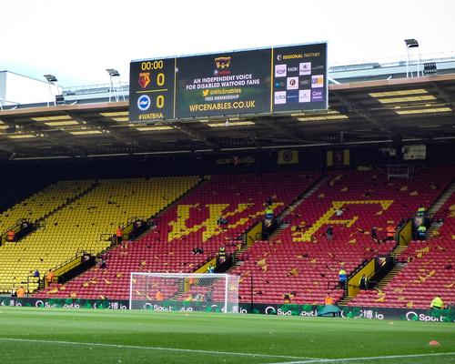 ADI screens deliver 'a great visual experience' at Watford FC