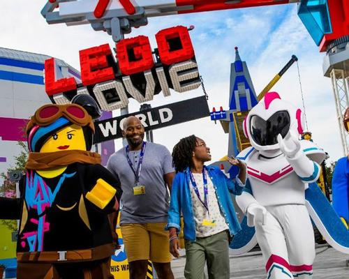 Lego Movie World announced by Merlin and follows the opening of a similar area at Legoland Florida earlier this year
