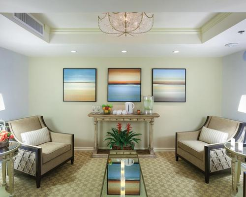 The Spa at Windsor Court will be expanded to include new treatment areas and relaxation spaces