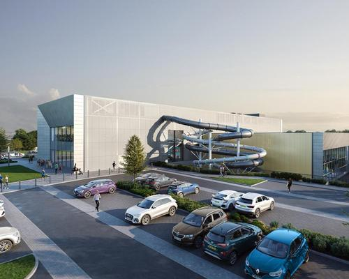 The complex has been designed by architects FaulknerBrowns and is expected to open in 2021