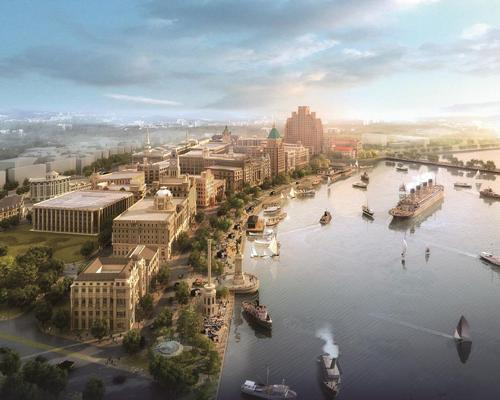 Legacy Entertainment designed Dream Bund to evoke Shanghai's iconic waterfront during the first half of the 20th Century.