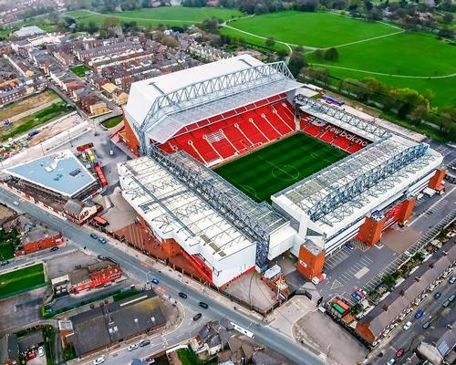The move is an escalation of Liverpool's existing plans for Anfield