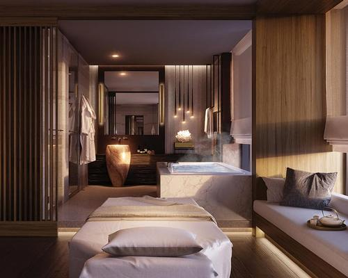 The Ritz-Carlton Spa will feature three treatments rooms, one spa suite, saunas, a heated outdoor infinity pool, vitality pools with massage jets and a private mind & body studio