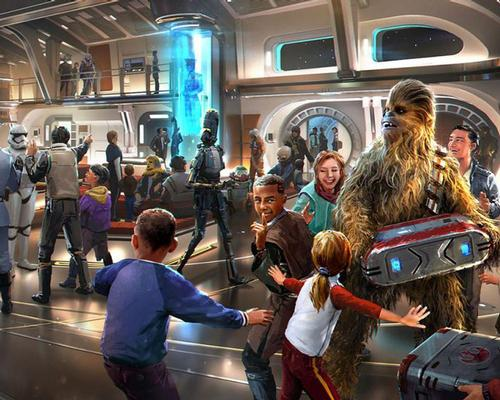 Star Wars immersive hotel experience given name as Disney reveals new details for Galactic Starcruiser