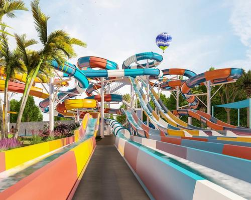 Swimplex-Polin Australia is creating a new waterslide complex for WhiteWater World