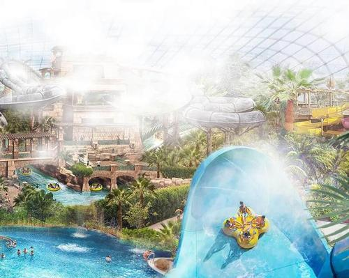 The Elysium Water Park would be set on a 75-acre site near Bournemouth Airport
