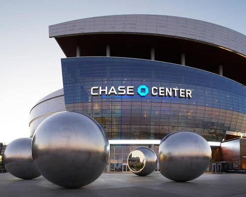 Seeing Spheres is located right next to the new Chase Center complex / Matthew Millman