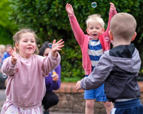 The physical literacy and social mobility project was designed for children aged between two and four