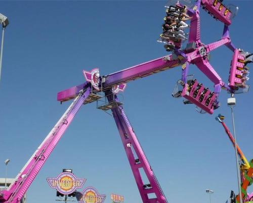 Technical Park will be showcasing its re-engineered Loop Fighter pendulum ride among others