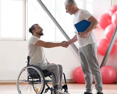 Only two per cent of the 500 disabled people interviewed said gym businesses were the 'most accessible'