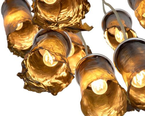 NEA Studio showcase seaweed's design potential with hand-crafted algae lamps