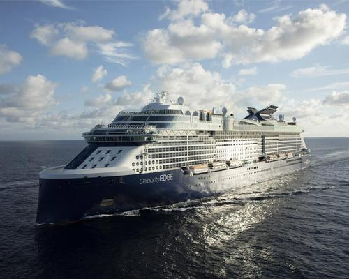 The <i>Celebrity Apex</i> will launch in Southampton in April 2020
