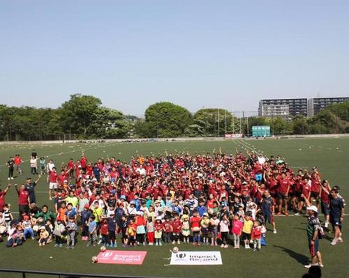 World cup legacy programme inspires 1.8 million new rugby players in Asia