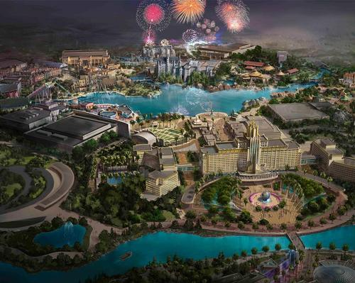 The park will be Universal's fourth theme park in Asia