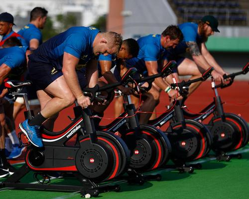 Wattbike supplies Rugby World Cup venues