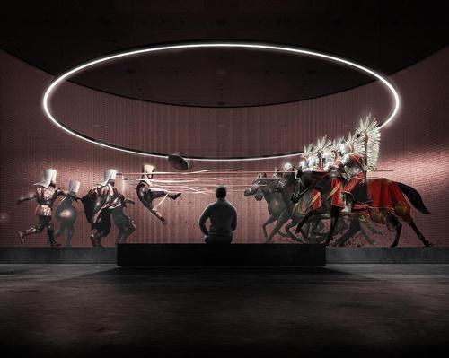 'Keystone' dioramas will crown each segment of the display