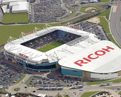 The club first moved to its current home, the 32,000-capacity Ricoh Arena, ahead of the 2005-06 season