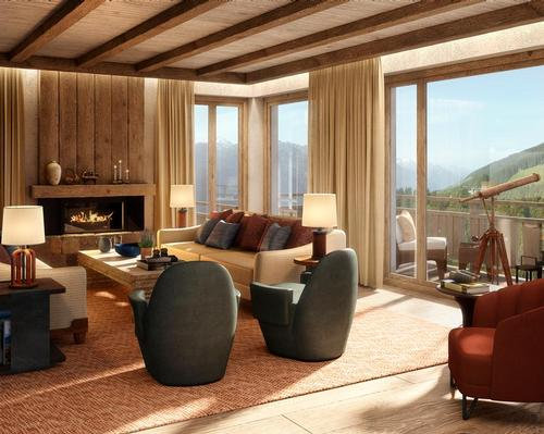 Situated in the Hohe Tauern National Park, the resort and residences are surrounded by nature. / Six Senses