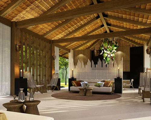 The spa is a wellness journey through a sequence of Dominican cabanas, designed to be unobtrusive and respectful of their ecological surroundings