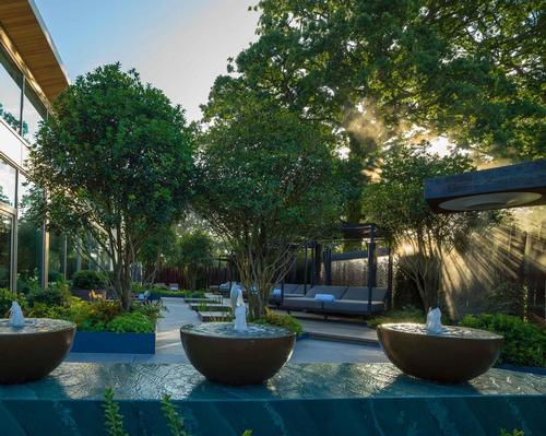 Sparcstudio collaborated with Ann-Marie Powell, a gold-medal-winning RHS Chelsea Flower Show designer, to create the garden.
