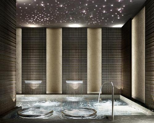 The spa will offer gender-specific heat and water experiences.