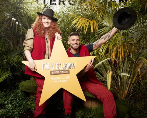Former I'm A Celebrity… campmates Jake Quickenden and Jennie McAlpine break ground at the new Watergardens development in Manchester
