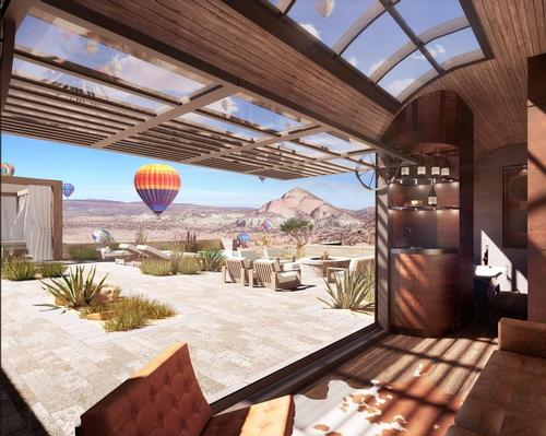 Infinite Explorer is a hospitality concept that helps travelers connect with remote destinations / SB Architects