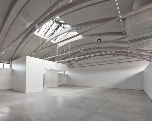 The building's exhibition space covers 450sq m (4,900sq ft)