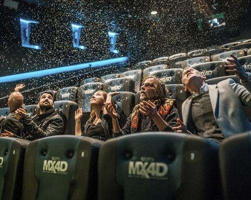 The MX4D provides a completely immersive environment, enabling guests to 'feel' the action