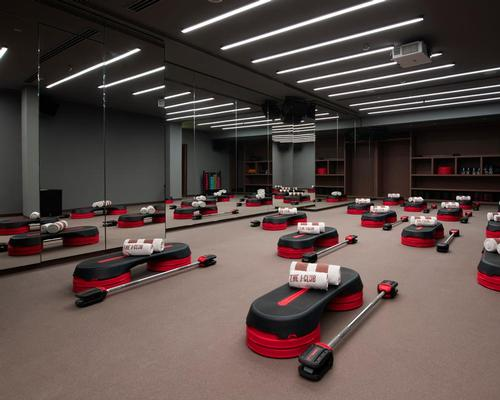 The J Club is home to a 1,000sq m indoor workout space.