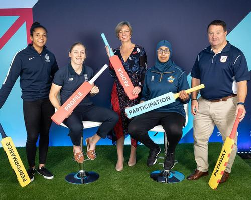 The funding forms part of an ECB action plan to make cricket a gender-balanced sport