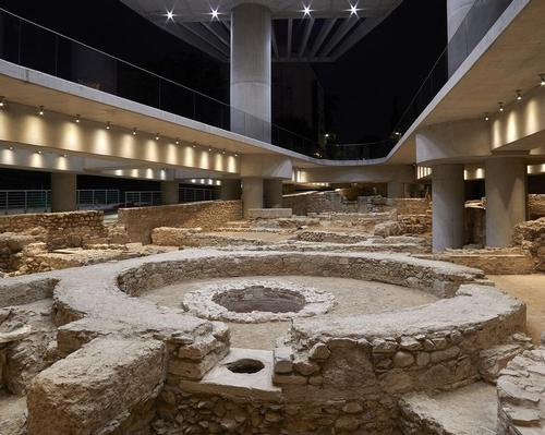 Opening of ancient settlement marks new beginning for Acropolis Museum