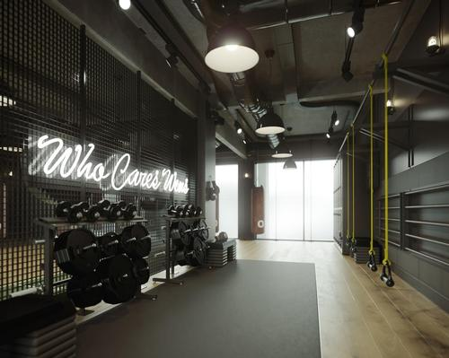 The 10,000sq ft (930sq m) Hero Training Club took two years to design and build