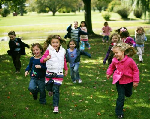 Among the report's recommendations is a call to ensure that children's environments encourage play and physical activity