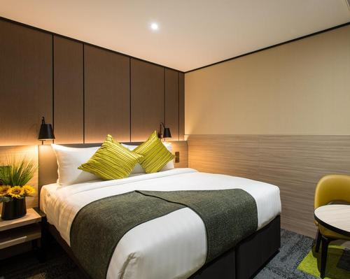 Rooms are soundproof, have warm, soothing lighting and mattresses and pillows that are handpicked to encourage quality sleep