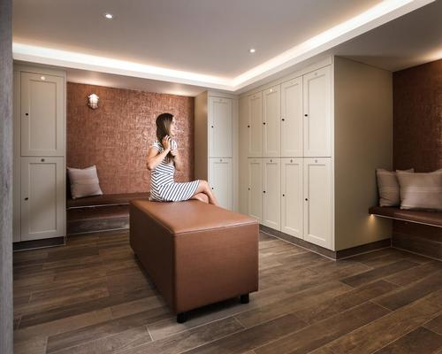 Crown Sports Lockers creates bespoke locker solutions for the hotel and spa industry and has previously worked with St Micahel's Spa & Resort in Cornwall (pictured)