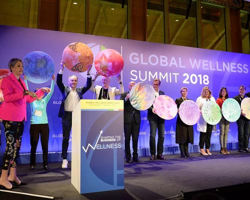 The Wellness Moonshot was launched at the 2018 GWI Global Wellness Summit.