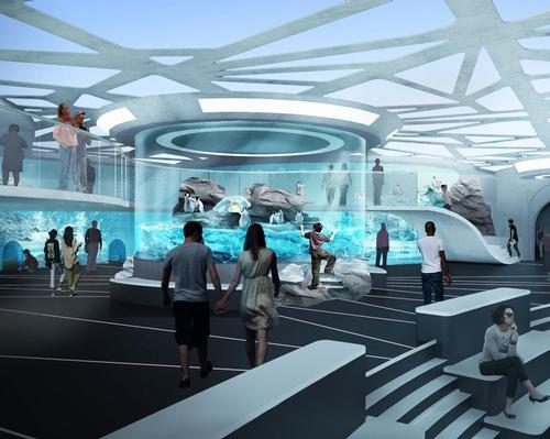 State-of-the-art technology will make the aquarium one of the most advanced in the world