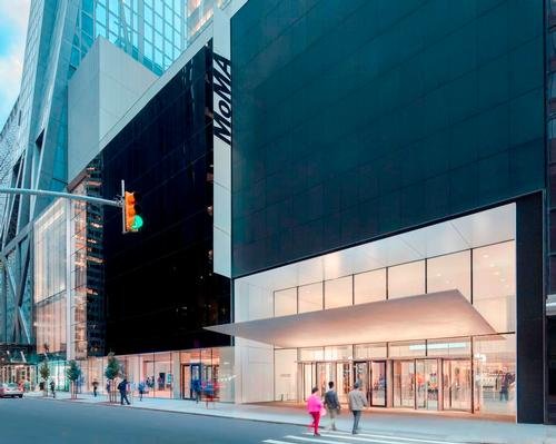 MoMA's footprint has increased to 708,000sq ft (66,000sq m)